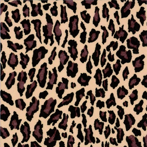 20 Servietten Leopard Pattern Nature - Leopardenmuster 33x33cm