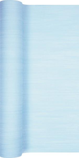 Tischläufer Struktur hellblau 490x40cm