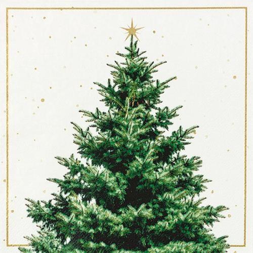 20 Servietten Fir Tree 33x33cm