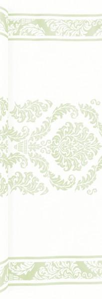 Tischläufer Elegant green - Muster hellgrün 490x40cm