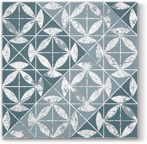 20 Servietten Mosaic Texture - Mosaikmuster strukturiert 33x33cm