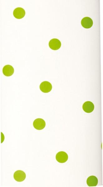 Mitteldecke Modern dots green - Punkte grün 80x80cm