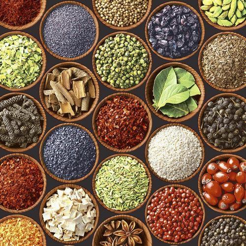 20 Servietten Colorful Spices 33x33cm