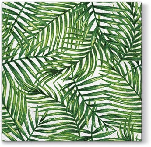20 Servietten Tropical Leaves 33x33cm