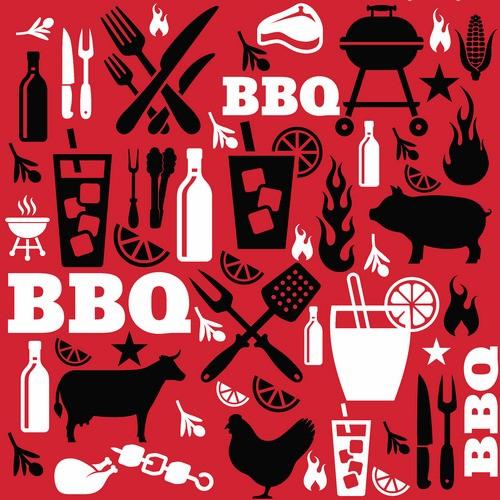 20 Servietten All BBQ – Heißes Barbecue 33x33cm
