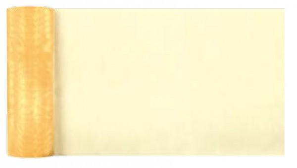 Tischläufer Organza gelb 270mm x 10m