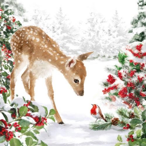 PPD Servietten Bambi 33x33cm