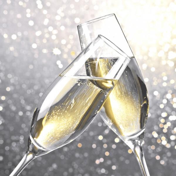 20 Cocktailservietten Cheers – Auf unser Wohl 24x24cm