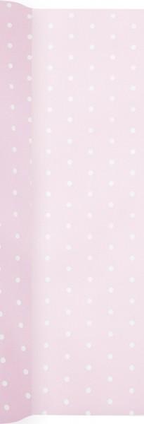 Tischläufer Mini Dots rose - Mini Punkte rose 490x40cm