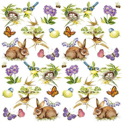 Ambiente Servietten Easter Feeling 33x33cm