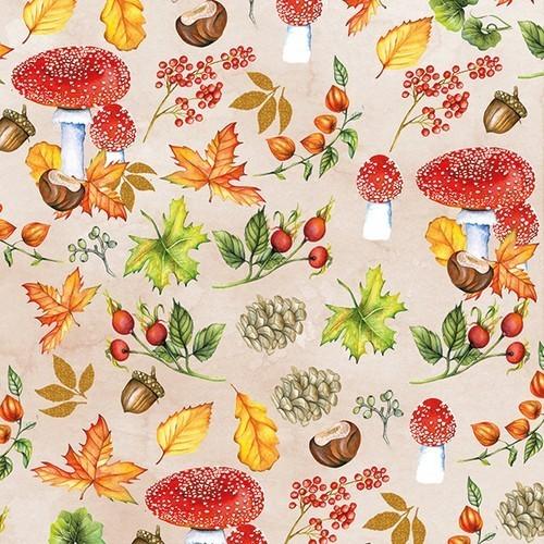 Ambiente Servietten Autumn Pattern 33x33cm