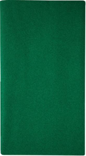 Mitteldecke Uni dunkelgrün 80x80cm