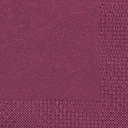 20 Servietten Modern Colours purple 33x33cm