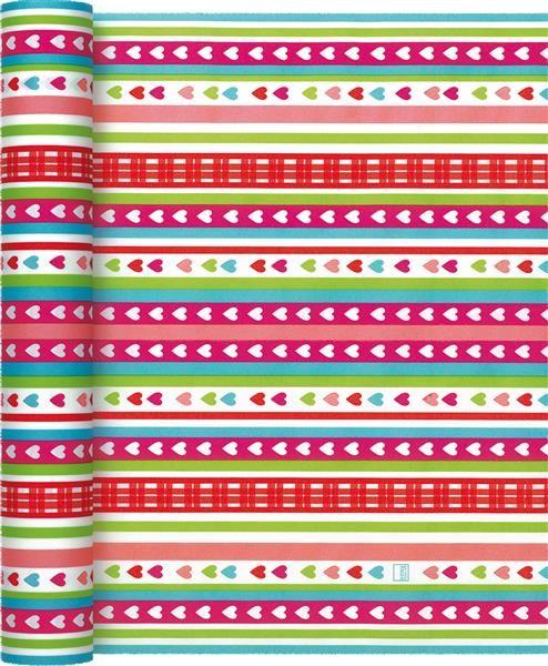Tischläufer Lovely Stripes - Liebliches Streifenmuster 490x40cm