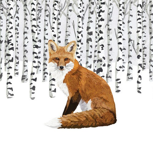 PPD Servietten Wilderness Fox 33x33cm