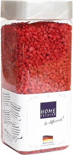 Granulat Kies red - rot Körnung 2 - 3mm 550ml