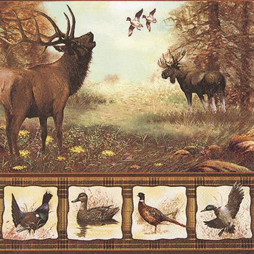 20 Servietten Wildlife - Waldleben 33x33cm