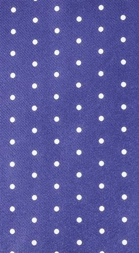 Mitteldecke Mini Dots blue 80x80cm