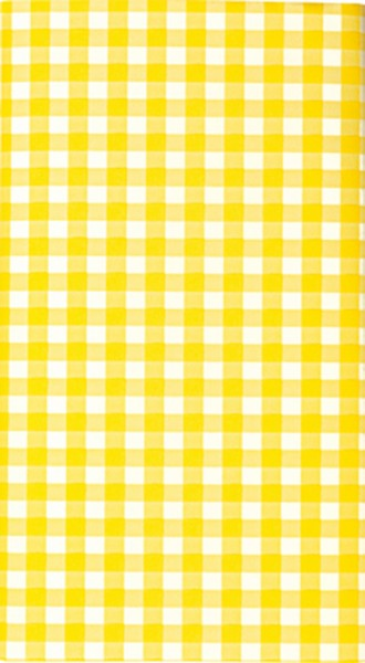 Mitteldecke Karo yellow - Karo gelb 80x80cm
