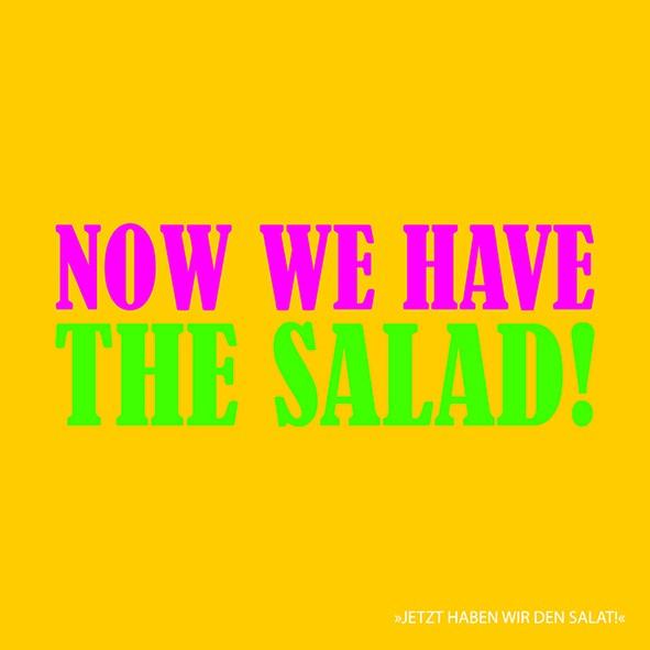 20 Servietten Now we have the Salad 33x33cm