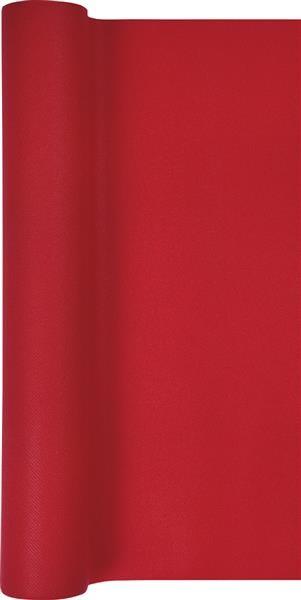 Tischläufer Uni rot 490x40cm