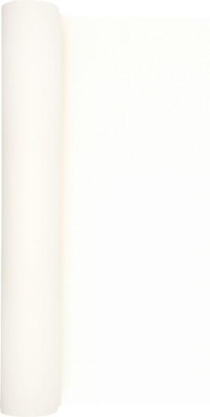 Tischläufer Uni weiß 490x40cm