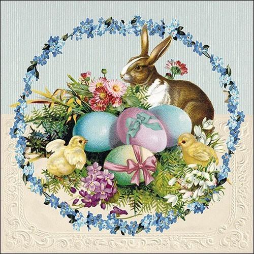 Ambiente Servietten Easter Egg Wreath 33x33cm