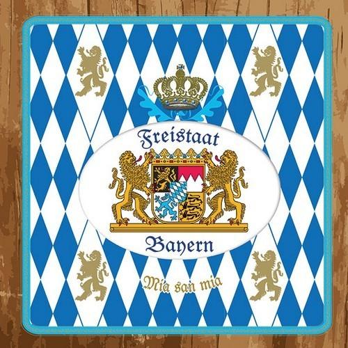 Ambiente Servietten Freistaat Bayern  33x33cm