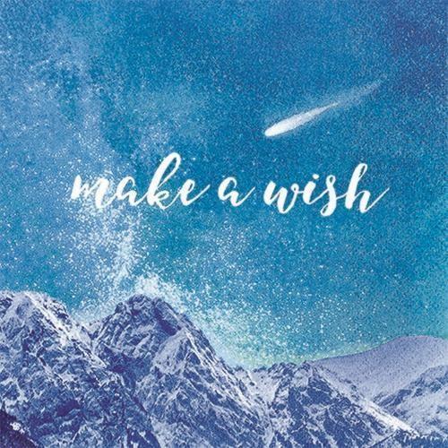 20 Servietten Make a Wish 33x33cm