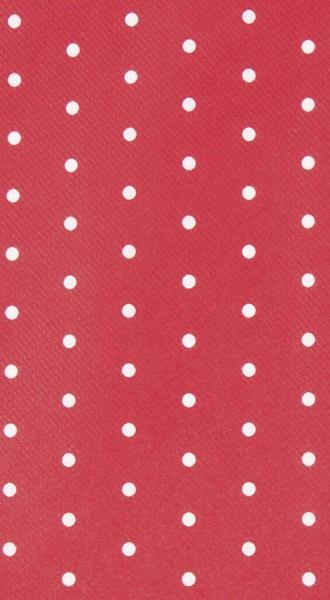 Mitteldecke Mini Dots red/white - Minipunkte rot/weiß 80x80cm