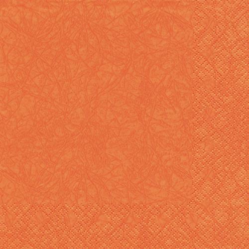 20 Servietten Modern Colours orange 33x33cm