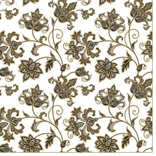 20 Servietten Floral Oriental Background – Orientalisches Blumenmuster 33x33cm