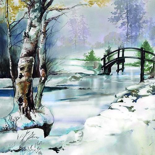 Ambiente Servietten It´s Wintertime 33x33cm