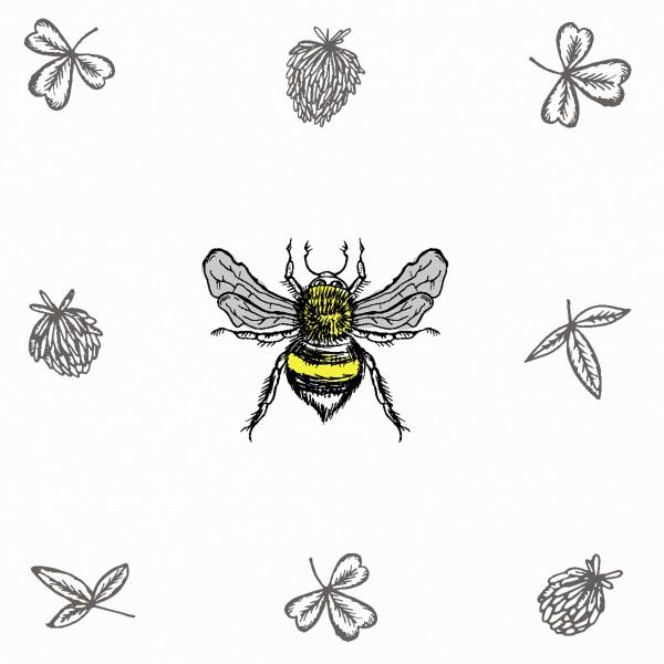 20 Cocktailservietten Bee Loved – Biene im Fokus 24x24cm