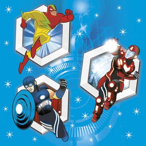 Daisy 20 Servietten Super Heroes 33x33cm