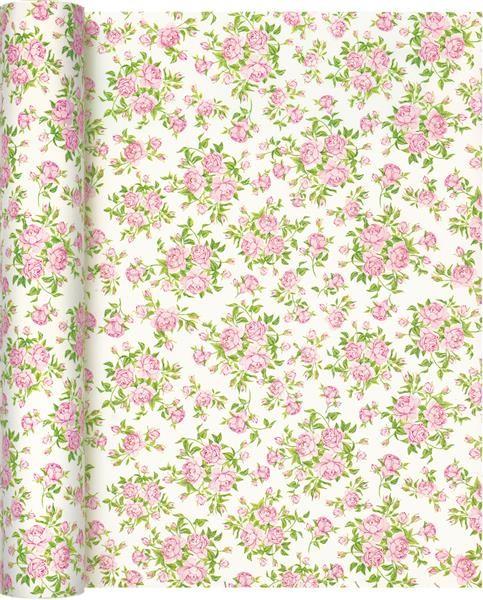 Tischläufer Little Roses - Kleine Rosen 490x40cm