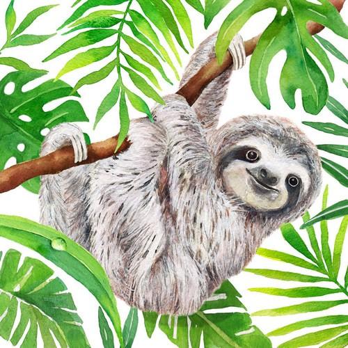 PPD Servietten Tropical Sloth 33x33cm