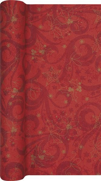 Tischläufer Classical Christmas red - klassische Weihnachten rot 500x40cm