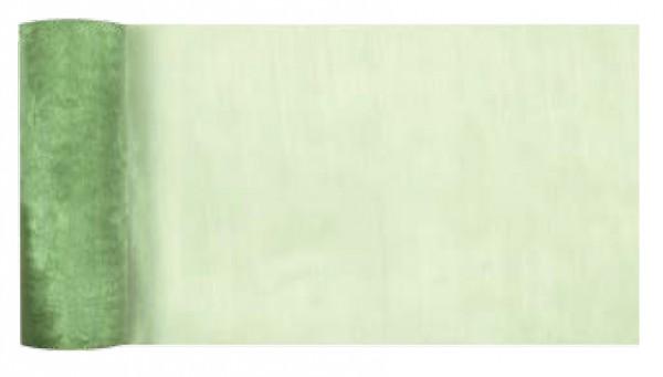Tischläufer Organza grün 270mm x 10m