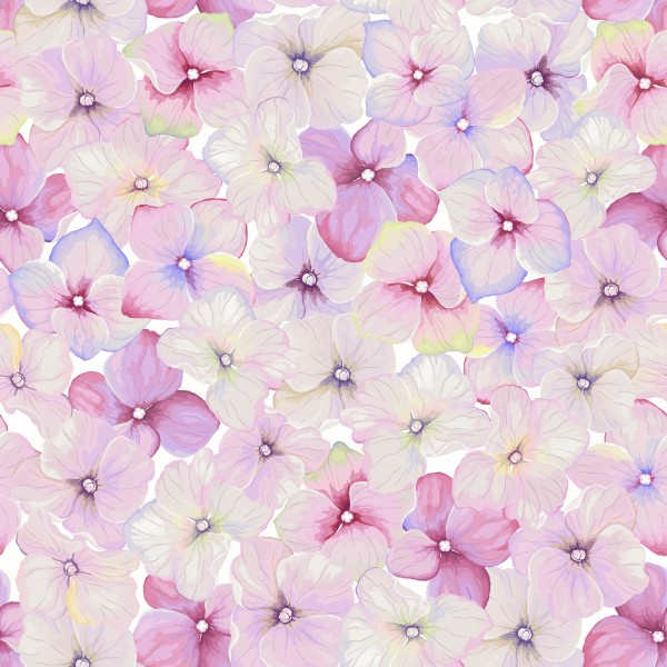 20 Cocktailservietten Small Blossoms – Überall kleine Frühlingsblüten 24x24cm