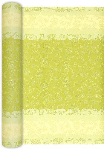 Tischläufer Lara grün 490x40cm