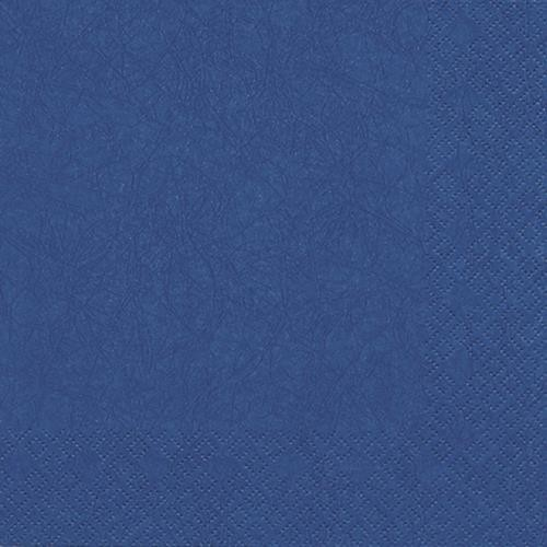 20 Servietten Modern Colours blau 33x33cm