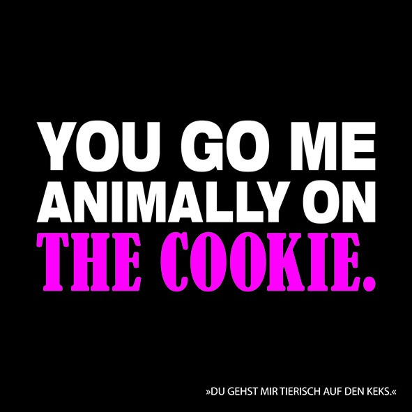 20 Servietten You go me animally on the Cookie 33x33cm