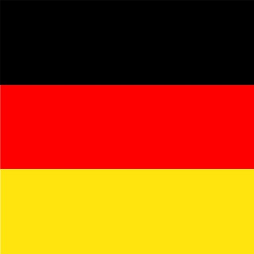 20 Servietten Germany – Deutschland Flagge 33x33cm
