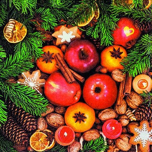 20 Servietten Christmas Variety 33x33cm