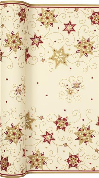 Tischläufer Stars and Swirls gold - Sterne & Wirbel gold 500x40cm
