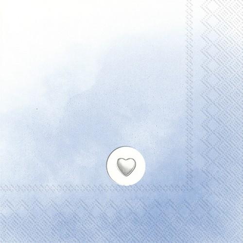 20 Servietten Little Powder light blue