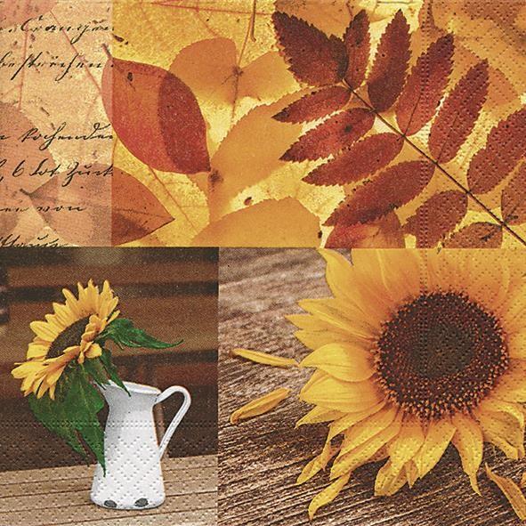 AV 20 Servietten Lovely Autumn - Wundervolle Herbsteindrücke 33x33cm