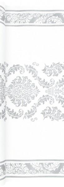 Tischläufer Elegant silver - Muster silber 490x40cm