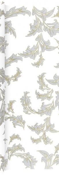 Tischläufer Luxury gold/silver - Ornamente edel gold/silber 490x40cm